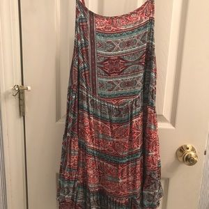 Umgee paisley slip dress